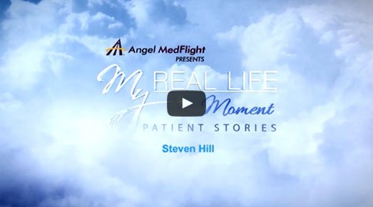 "Angel MedFlight Emmy Nomination for ""My Real Life Moment"" Video Series - Steven Hill"