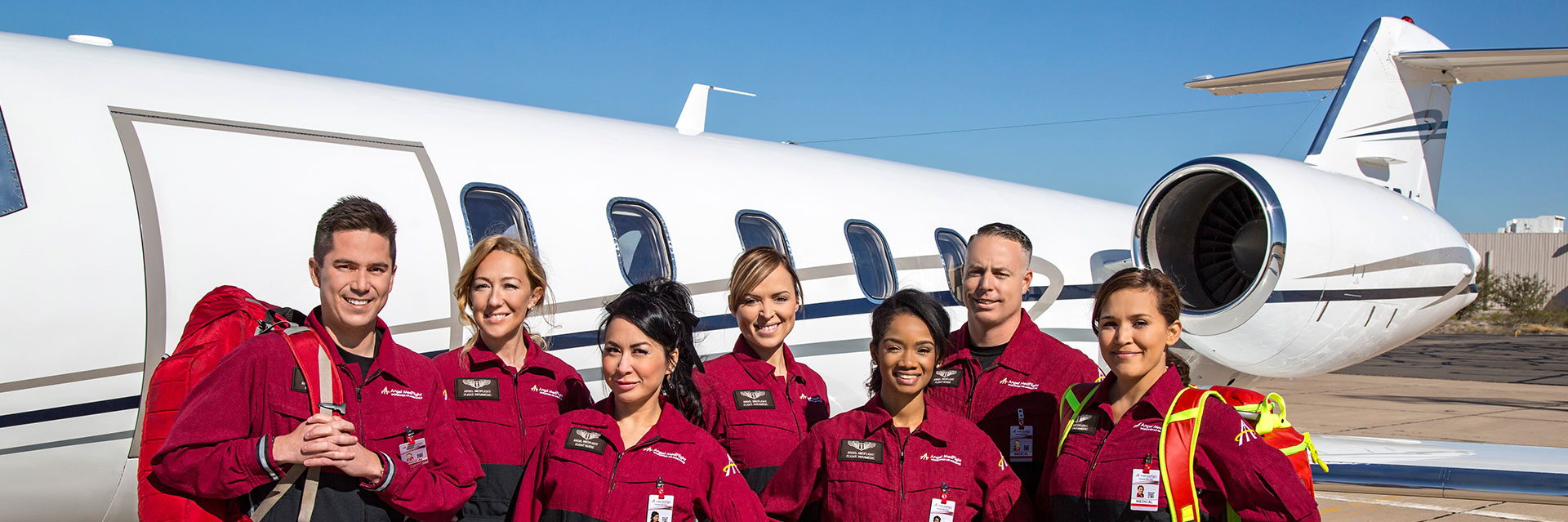 medical flight clinicians, air ambulance, angel medflight