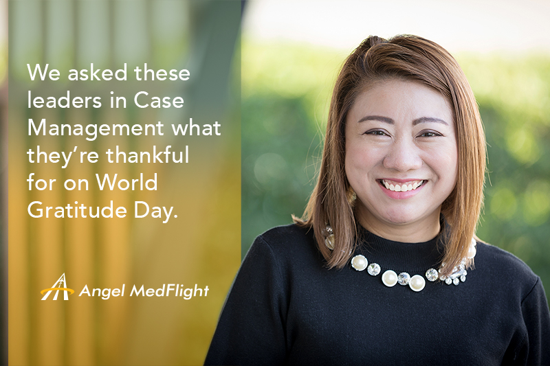Case Manager, World Gratitude Day
