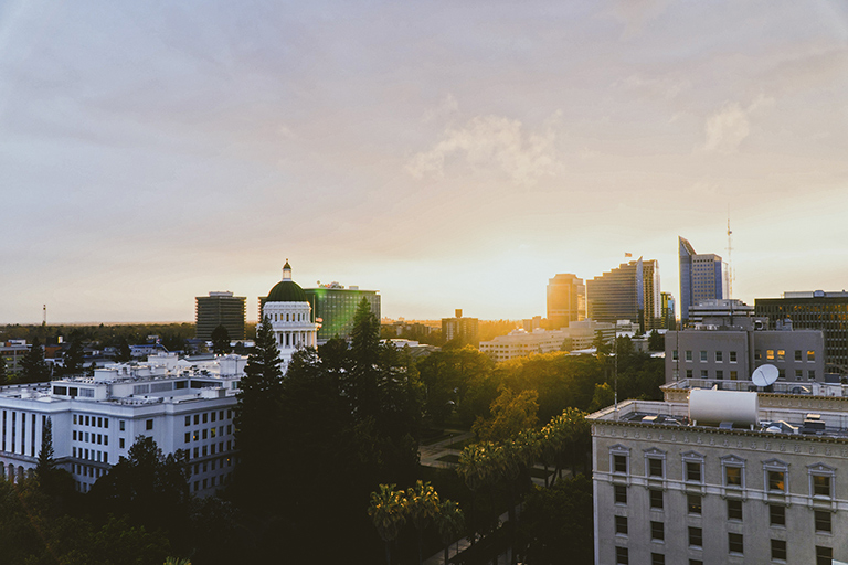 SPhoto of downtown Sacramento, CA
